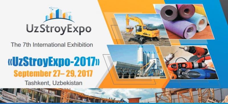 نمایشگاه ساختمان تاشکند ازبکستان 2017
