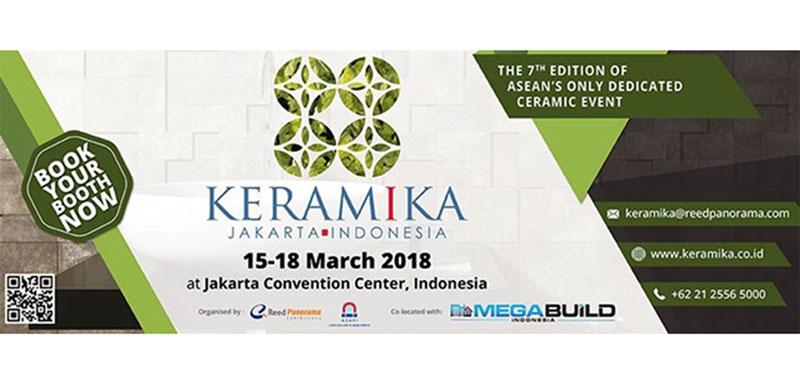 نمایشگاه سرامیک جاکارتا اندونزی 2018