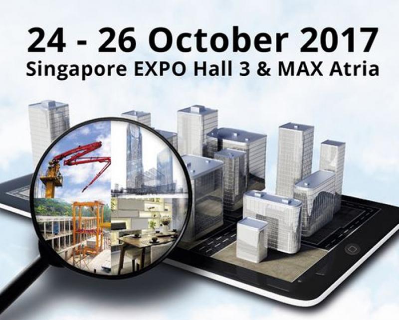نمایشگاه تکنولوژی ساختمان سنگاپور 2017