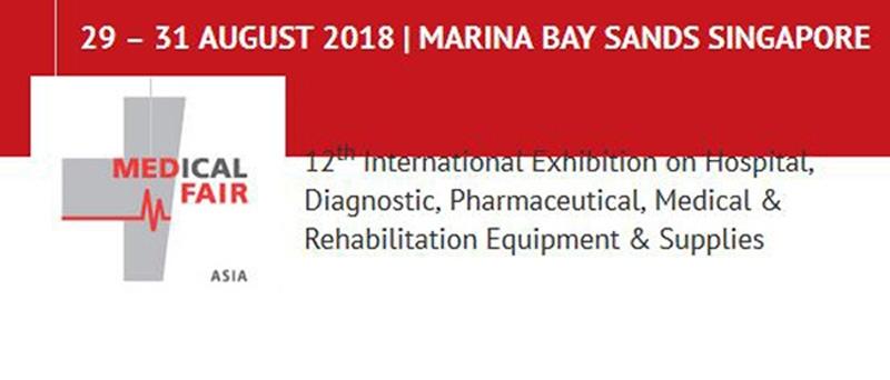 نمایشگاه پزشکی آسیا سنگاپور 2018