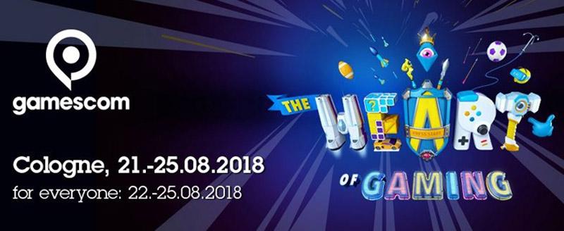 نمایشگاه بازی کلن آلمان 2018