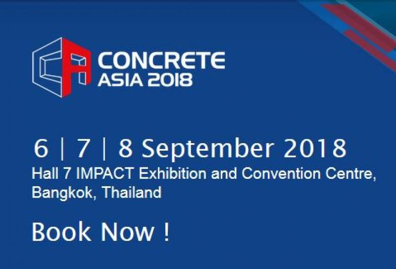 نمایشگاه بتن آسیا بانکوک تایلند 2018