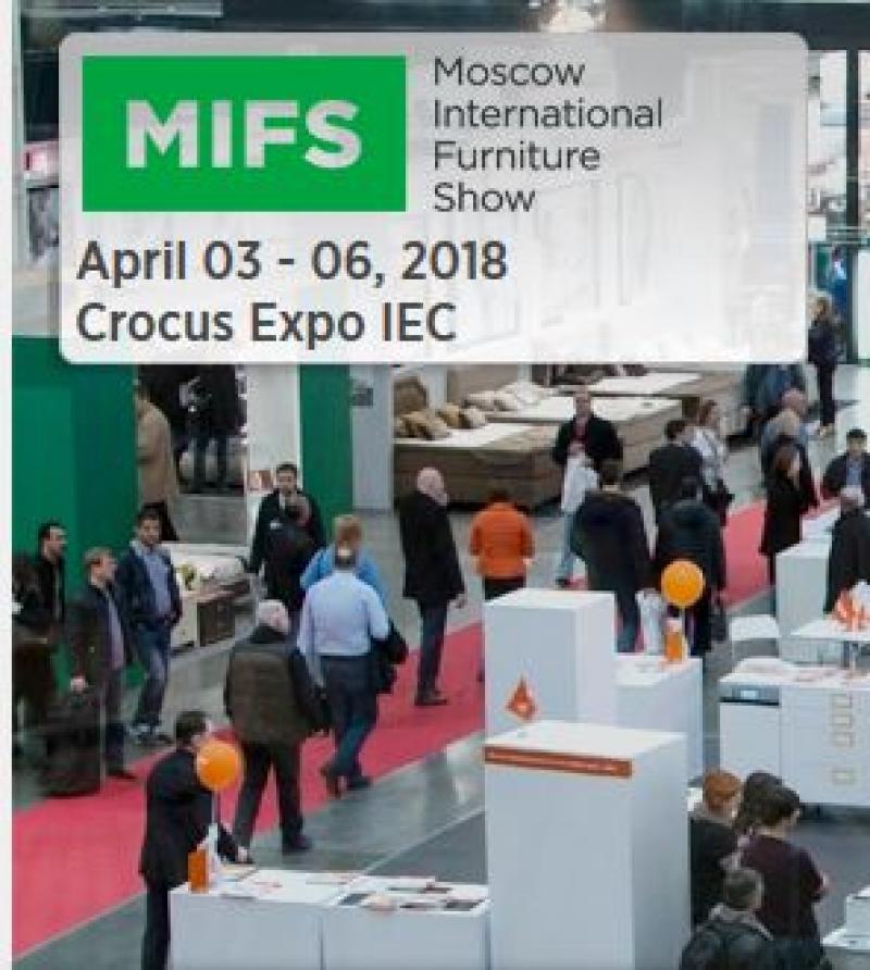 نمایشگاه مبلمان مسکو روسیه 2018