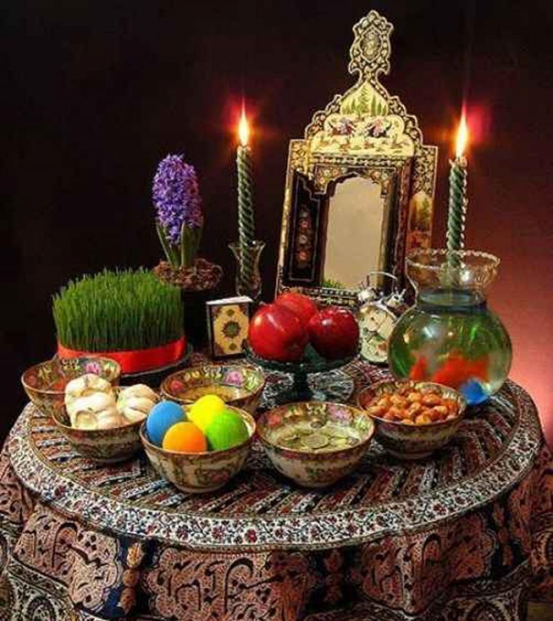نمایشگاه سفره هفت سین، گل آرایی، شیرینی های خانگی و هنرهای دستی ارومیه 96