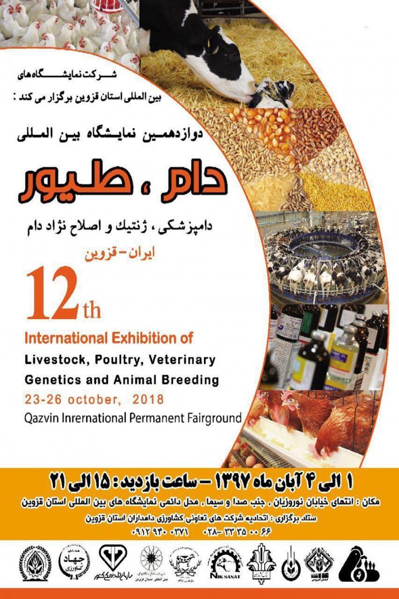 نمایشگاه دام، طیور، آبزیان و دامپزشکی قزوین 97