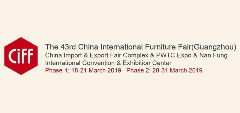 نمایشگاه مبلمان خانگی CIFF گوانگجو چین 2019