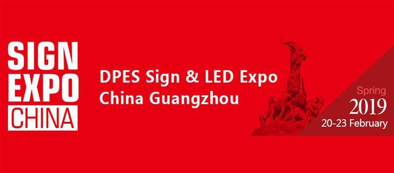 نمایشگاه چاپ و تبلیغات دیجیتال D.PES گوانگجو چین 2019