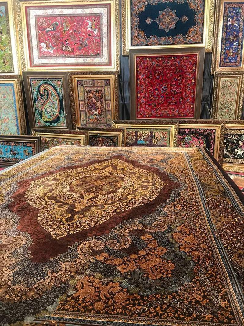 نمایشگاه فرش و تابلو فرش دستباف سنندج 98