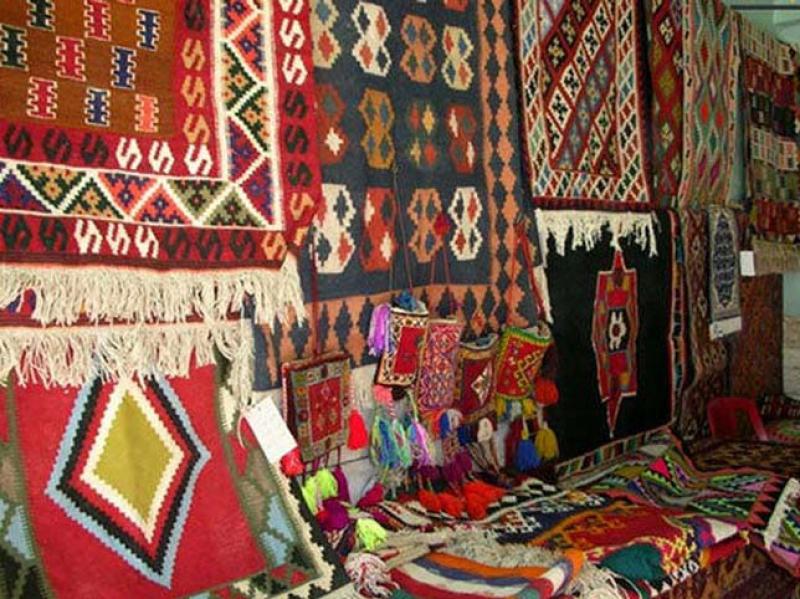نمایشگاه صنایع دستی همدان 98