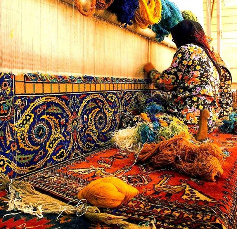 نمایشگاه فرش و تابلو فرش دستبافت خرم آباد 98