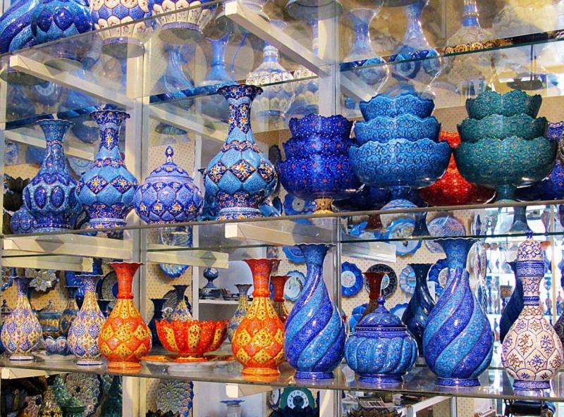 نمایشگاه گردشگری و هتلداری، صنایع دستی، سوغات و هدایا قم 98
