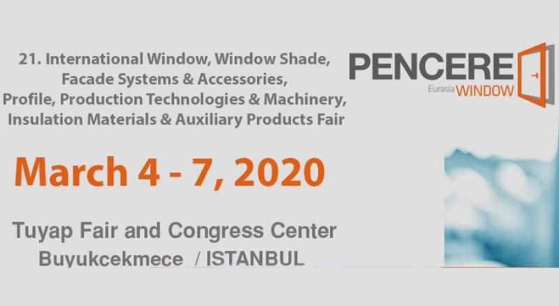 نمایشگاه صنعت پنجره استانبول ترکیه 2020
