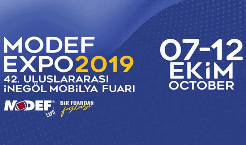 نمایشگاه مبلمان و دکوراسیون MODEF EXPO بورسا ترکیه 2018