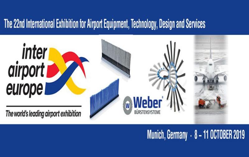 نمایشگاه تجهیزات فرودگاهی (Inter Airport Europe) مونیخ آلمان 2019